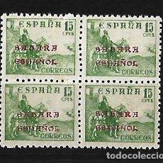 Sellos: ESPAÑA SHARA ESPAÑOL 1941 SELLOS DE ESPAÑA DE 1940 HABILITADOS. Lote 78266073