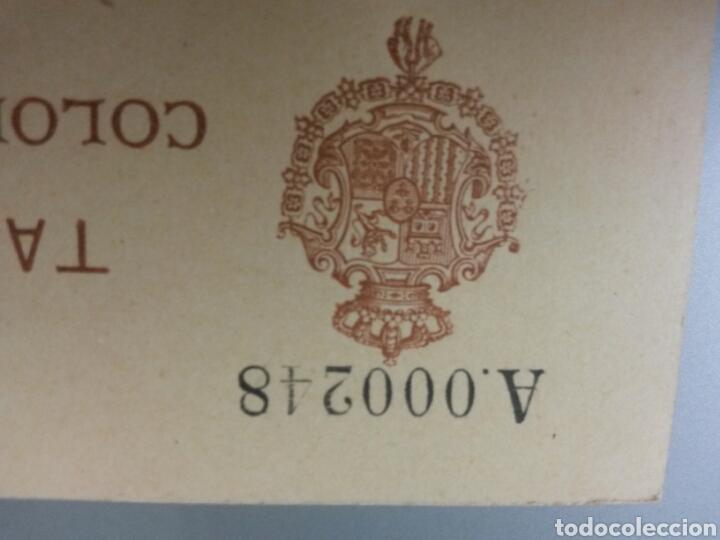 Sellos: ESCEPCIONAL TARJETA POSTAL COLONIA DE RIO DE ORO 1905 (simple) TIRADA 250 Unid.ALFONSO XIII INFANTE - Foto 2 - 231947690