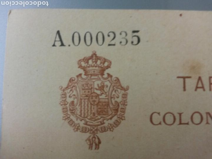Sellos: ESCEPCIONAL TARJETA POSTAL COLONIA DE RIO DE ORO 1905 (simple) TIRADA 250 Unid.ALFONSO XIII INFANTE - Foto 4 - 79687834