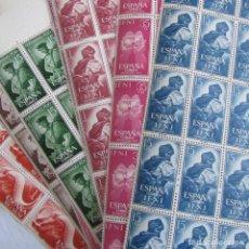 Sellos: 1962. 360 SELLOS. DÍA DEL SELLO. SAHARA RÍO MUNI, FERNANDO POO E IFNI. Lote 80245509
