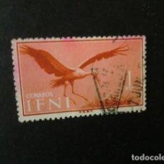 Sellos: IFNI,1960,AVES,EDIFIL 166,USADO,(LOTE AB). Lote 80343181