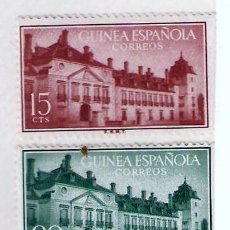 Sellos: SELLOS GUINEA ESPAÑOLA 1955 - TRATADO DE EL PARDO. Lote 81043012