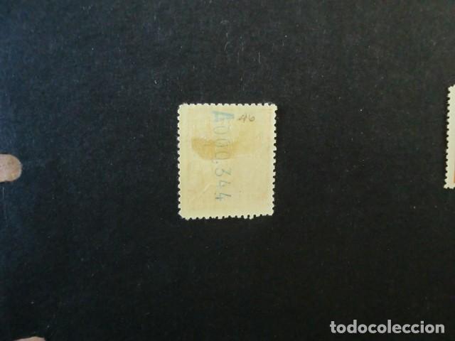 Sellos: ELOBEY,ANNOBÓN Y CORISCO,1907,ALFONSO XIII,EDIFIL 42*,NUEVO CON SEÑAL FIJASELLO,(LOTE AB) - Foto 2 - 83655152