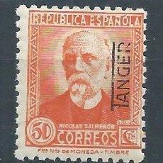 Sellos: R15/ TANGER, ** MNH, Nº 94, REPUBLICA, NICOLAS SALMERON, CON GOMA. Lote 84202672