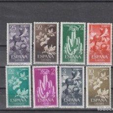 Sellos: SAHARA ESPAÑOL 1962 - EDIFIL NRO. 201-08- NUEVOS-PUNTO OXIDO EN EL 201. Lote 183333905