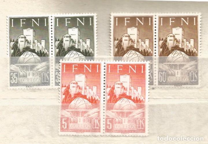 IFNI 1952 .- IV CENTENARIO DE LEON AFRICANO .- COMPLETA NUEVOS (Sellos - España - Colonias Españolas y Dependencias - África - Ifni)