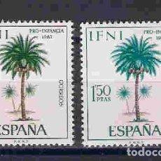 Francobolli: ÁRBOLES DE IFNI. SELLOS AÑO 1967. Lote 208183201
