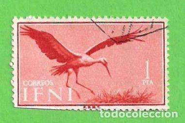 EDIFIL 166 - IFNI - PÁJAROS - CIGÜEÑAS. (1960). (Sellos - España - Colonias Españolas y Dependencias - África - Ifni)