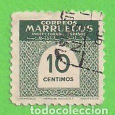 Sellos: EDIFIL 383 - MARRUECOS - CIFRAS. (1953).. Lote 90107068