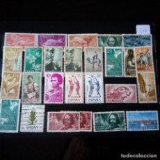 Sellos: LOTE 26 SELLOS NUEVOS Y USADOS SAHARA ESPAÑOL. Lote 90353752