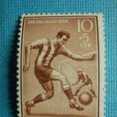 Sellos: SELLO - ESPAÑA - IFNI - DIA DEL SELLO 1959 - 10 + 5 CTS - EDIFIL 156 - NUEVO SIN CHARNELA. Lote 91004240
