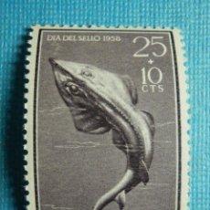 Sellos: SELLO - ESPAÑA - IFNI - DIA DEL SELLO 1958 - 25 + 10 CTS - EDIFIL 150 - NUEVO SIN CHARNELA. Lote 91004660