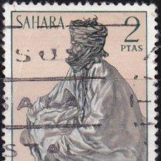 Sellos: 1972 - SAHARA - TIPOS INDIGENAS - EDIFIL 299. Lote 91277990
