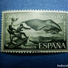 Sellos: SELLO - ESPAÑA - FERNANDO POO - DIA DEL SELLO - EDIFIL 193 - 20 + 5 CTS - 1960 - NUEVO SIN CHARNELA. Lote 91313115