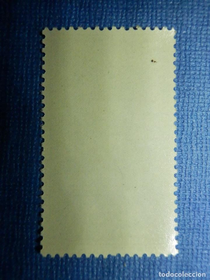 Sellos: SELLO - ESPAÑA - FERNANDO POO - EXALTACIÓN FRANCO - EDIFIL 201 - 70 CTS - 1961 - NUEVO SIN CHARNELA - Foto 2 - 91313465