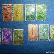 Sellos: SELLO - ESPAÑA - GUINEA ESPAÑOLA - LOTE 10 SELLOS - EDIFIL 388 AL 397 - NUEVOS SIN CHARNELA. Lote 91317960