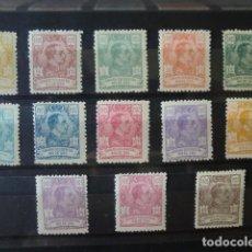 Sellos: RIO DE ORO,1921,ALFONSO XIII,EDIFIL 130*-142*,COMPLETA,NUEVOS CON FIJASELLO,(LOTE AB). Lote 92839910