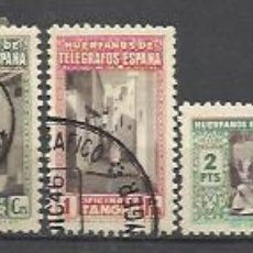 Sellos: 5654-SERIE COMPLETA SELLOS BENEFICENCIA AÑO 1947 MARRUECOS ESPAÑOL Nº51/60.COLONIA ESPAÑOLA EN AFRIC. Lote 93728140