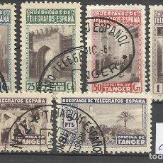 Sellos: 5655-SERIE COMPLETA SELLOS BENEFICENCIA AÑO 1947 MARRUECOS ESPAÑOL Nº61/66.COLONIA ESPAÑOLA EN AFRIC. Lote 93728400