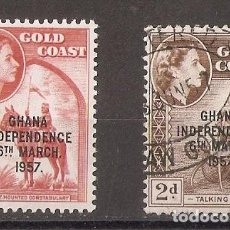 Sellos: GHANA. 1957. INDEPENDENCE 6 MARCH. . Lote 93921410