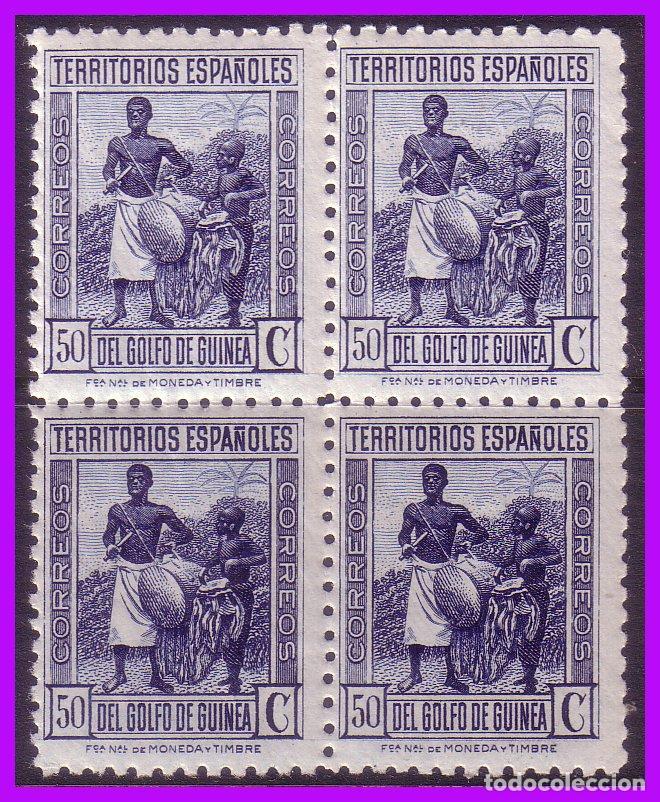 GUINEA 1934 TIPOS DIVERSOS, EDIFIL Nº 250 * * B4 (Sellos - España - Colonias Españolas y Dependencias - África - Guinea)