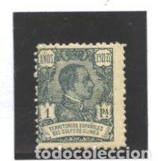 Sellos: GUINEA E.1922 - EDIFIL NRO. 164 - ALFONSO XIII - 1,-PTS.- NUEVO- PUNTO OXIDO. Lote 96040691