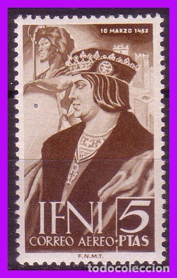 IFNI 1952 V CENTENARIO DE FERNANDO, EDIFIL Nº 82 * (Sellos - España - Colonias Españolas y Dependencias - África - Ifni)