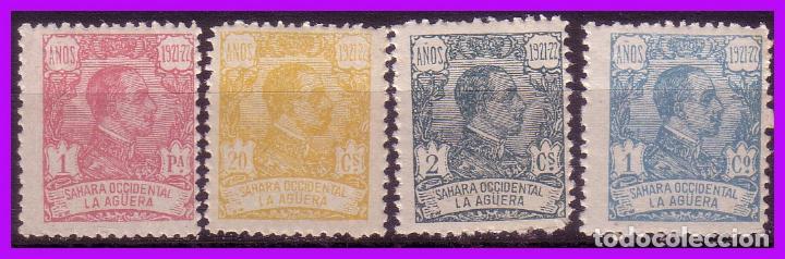 LA AGÜERA 1923 ALFONSO XIII, EDIFIL Nº 14, 15, 19 Y 24 * * (Sellos - España - Colonias Españolas y Dependencias - África - La Agüera)