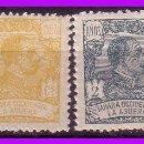 Sellos: LA AGÜERA 1923 ALFONSO XIII, EDIFIL Nº 14, 15, 19 Y 24 * *. Lote 96151059
