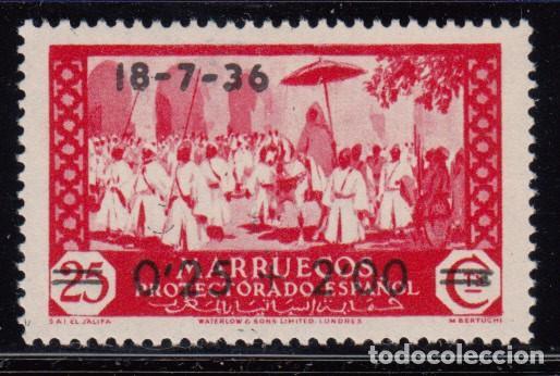 MARRUECOS 1936 EDIFIL Nº 161 MH (Sellos - España - Colonias Españolas y Dependencias - África - Marruecos)