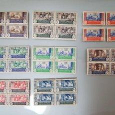 Sellos: SELLOS CABO JUBY 1946 EDIFIL 152/159 BLOQUE DE 4 ARTESANÍA PROTECTORADO MARRUECOS. Lote 97203551