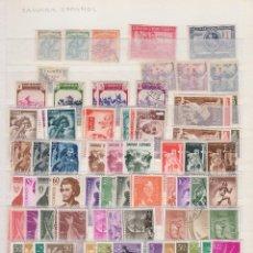 Sellos: SAHARA , RIO MUNI , 1924 / 1975 LOTE DE SELLOS NUEVOS Y USADOS , . Lote 97375895