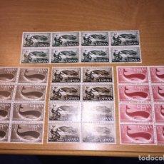 Sellos: FERNANDO PO ESPAÑA 1960 SET DE SELLOS NUEVOS BLOQUES DE 8 NUEVOS S/C. Lote 98898234