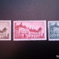 Sellos: GUINEA - 1955 - EDIFIL 347/349 MNH** (SERIE COMPLETA) TRATADO DE EL PARDO.NUEVO SIN SEÑAL DE FIJAS. Lote 101143131