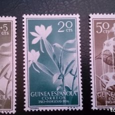 Sellos: GUINEA - 1956 - EDIFIL 358/361 MNH** (SERIE COMPLETA) PRO INDIGENAS.NUEVOS SIN SEÑAL DE FIJASELLOS.. Lote 101143339