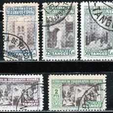 Sellos: TANGER, 1946 HUERFANOS DE TELEGRAFOS. OFICINA DE TANGER .*.MH ( 17-112 ). Lote 101431699