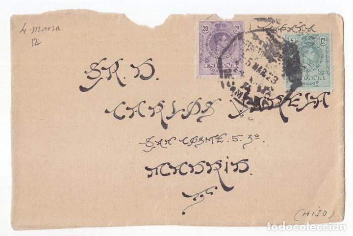 FRONTAL. MATASELLOS MARRUECOS. ESTAFETA DE CAMPAÑA. 1923. SELLOS DEL MEDALLÓN. RARO (Sellos - España - Colonias Españolas y Dependencias - África - Marruecos)