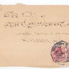 Sellos: FRONTAL. MATASELLOS MARRUECOS. ESTAFETA DE CAMPAÑA. 1923. SELLOS DEL MEDALLÓN SOBRECARGADOS. RARO. Lote 101454903