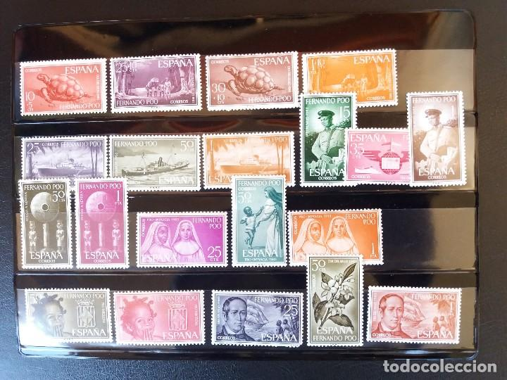 Sellos: EXCOLONIAS - FERNANDO POO -DEL 1960 AL 1968 -EDIFIL 179/267 -MHN** -(4 IMAGENES) NUEVOS - Foto 2 - 122783779