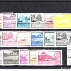 Sellos: GUINEA ESPAÑOLA .- NUMS. 277 A 293 NUEVOS CON FIJASELLOS. Lote 102443015