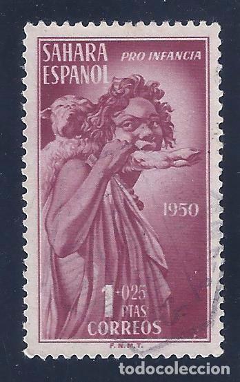 EDIFIL 84 SAHARA. PRO INDÍGENAS 1950. (Sellos - España - Colonias Españolas y Dependencias - África - Sahara)