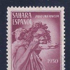 Sellos: EDIFIL 84 SAHARA. PRO INDÍGENAS 1950.. Lote 102742275