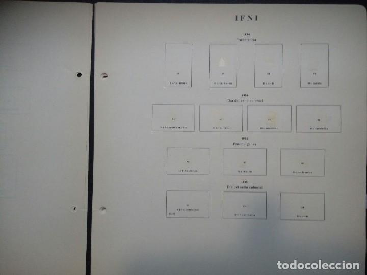 Sellos: Antiguas hojas de sellos IFNI . 1938 A 1966 ( 19 imágenes) - Foto 8 - 180906851