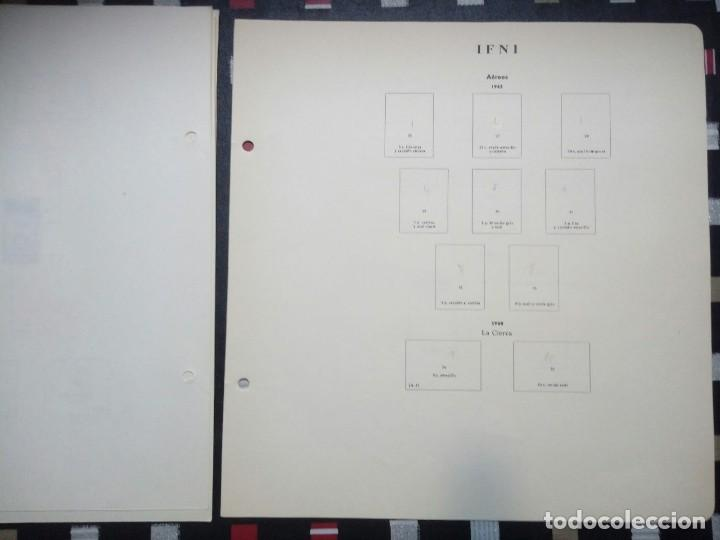 Sellos: Antiguas hojas de sellos IFNI . 1938 A 1966 ( 19 imágenes) - Foto 17 - 180906851