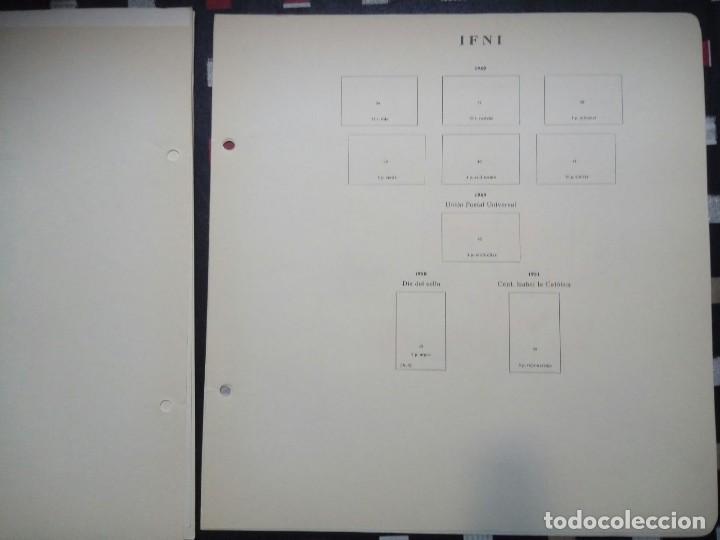 Sellos: Antiguas hojas de sellos IFNI . 1938 A 1966 ( 19 imágenes) - Foto 18 - 180906851