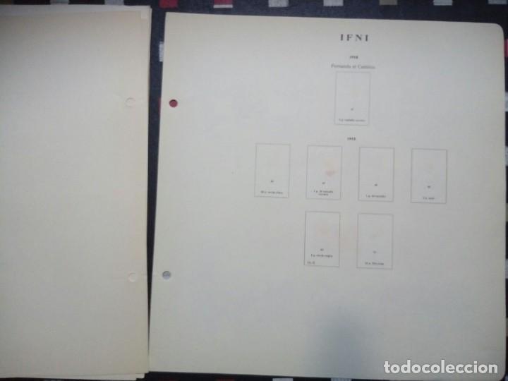 Sellos: Antiguas hojas de sellos IFNI . 1938 A 1966 ( 19 imágenes) - Foto 19 - 180906851