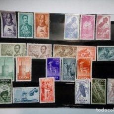 Sellos: IFNI. 8 SERIES COMPLETAS AÑOS 1962 A 1965. NUEVOS CON SEÑAL DE FIJASELLOS. Lote 103987651