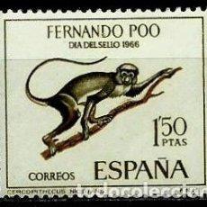 Sellos: FERNANDO POO 1966 EDI 253 (NUEVO***SIN/CH). Lote 106100651