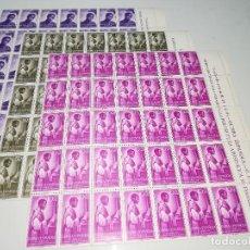 Sellos: AÑO 1955 EDIFIL Nº 344-46 SELLOS NUEVOS 35 SERIES BORDE DE HOJA. Lote 107222507