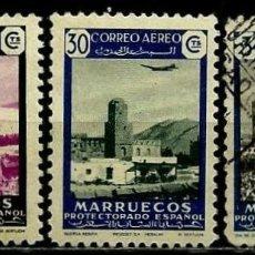 Sellos: MARRUECOS 1949 EDI 298-99-01 COMERCIO (USADOS). Lote 107860419